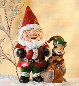 Santa Gnome Squirrel Elf 2