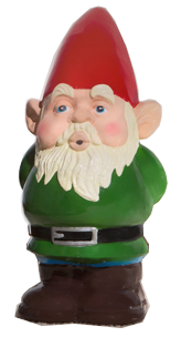 NORMAN THE DOOR GREETER GNOME