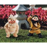 Sumo and Ninja Gnome set