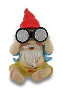 SOLAR BEACH LIGHT GNOME