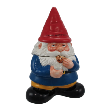 Gnome Sweet Gnome COOKIE JAR