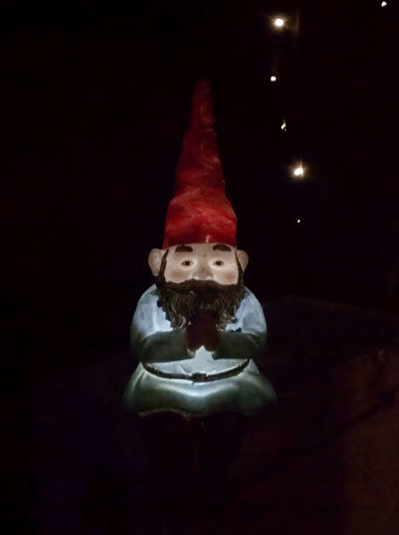 Glowing Solar Gnome