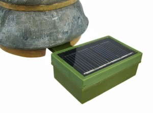 MORDECAI Glowing Gnome Solar Garden Solar Pack