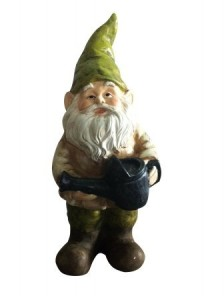 GNOME WITH WATERING CAN