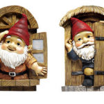 KNOTHOLE Gnomes TREE Dwelling Gnomes
